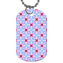 Cute Pretty Elegant Pattern Dog Tag (one Side)
