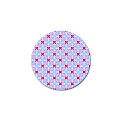 Cute Pretty Elegant Pattern Golf Ball Marker (4 Pack)