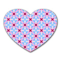 Cute Pretty Elegant Pattern Heart Mousepads