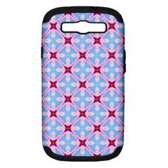 Cute Pretty Elegant Pattern Samsung Galaxy S Iii Hardshell Case (pc+silicone)