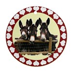 Three donks Ornament (Round)