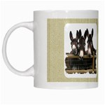 Three donks White Mug