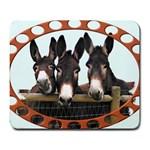Three donks Large Mousepad
