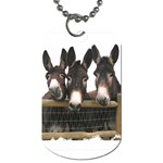 Three donks Dog Tag (One Side)