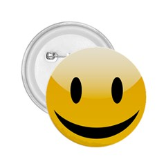 Smiley Face 2.25  Buttons by gddesigns2015