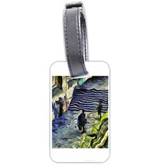 Banks Of The Seine Kpa Luggage Tags (two Sides) by karynpetersart