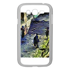 Banks Of The Seine Kpa Samsung Galaxy Grand Duos I9082 Case (white) by karynpetersart