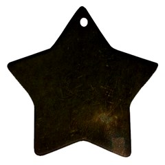 Urban Grunge Star Ornament (two Sides)  by LokisStuffnMore