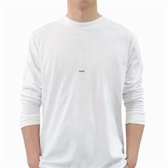 Comic Book Zoom! White Long Sleeve T Shirts