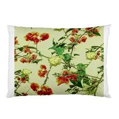 Vintage Style Floral Design Pillow Cases by dflcprints