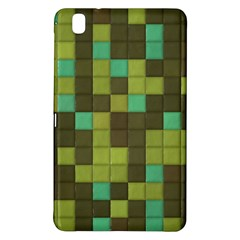Green Tiles Pattern	samsung Galaxy Tab Pro 8 4 Hardshell Case by LalyLauraFLM