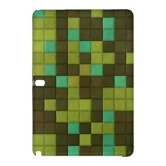 Green Tiles Pattern	samsung Galaxy Tab Pro 12 2 Hardshell Case by LalyLauraFLM