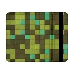 Green Tiles Patternsamsung Galaxy Tab Pro 8 4  Flip Case by LalyLauraFLM