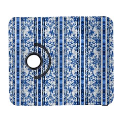 Chinoiserie Striped Floral Print Samsung Galaxy S  III Flip 360 Case by dflcprints