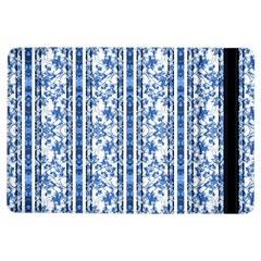 Chinoiserie Striped Floral Print Ipad Air Flip by dflcprints