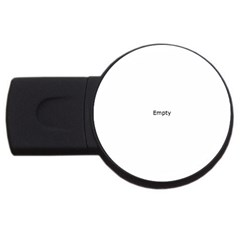 Colour Fields Round USB Flash Drive Round (1 GB)  by theimagezone