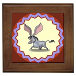 Big ears Framed Tile