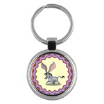 Big ears Key Chain (Round)