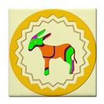 Funky Donkey Tile Coaster