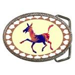 Funny Donkey Belt Buckle