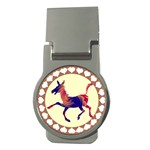 Funny Donkey Money Clip (Round)