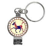 Funny Donkey Nail Clippers Key Chain