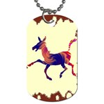 Funny Donkey Dog Tag (One Side)