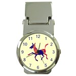 Funny Donkey Money Clip Watch