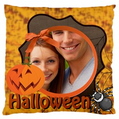 Halloween By Joely   Large Flano Cushion Case (two Sides)   Lza5u0438uy1   Www Artscow Com Front