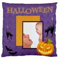 Halloween By Joely   Large Flano Cushion Case (two Sides)   Wdhxniqjntrq   Www Artscow Com Front