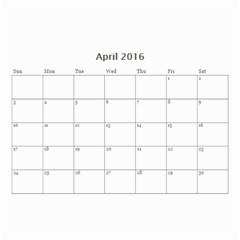Calendar2016 By Jessicajlockhart Gmail Com Apr 2016