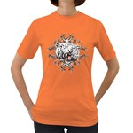white tiger Women s Dark T-Shirt