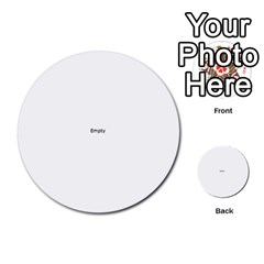 You Are The Best Decision Multi Purpose Cards (round)  by theimagezone