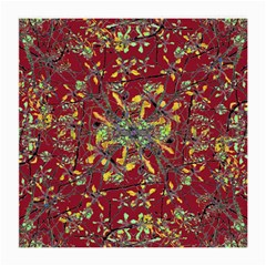 Oriental Floral Print Medium Glasses Cloth (2 Side) by dflcprints