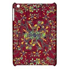 Oriental Floral Print Apple Ipad Mini Hardshell Case by dflcprints