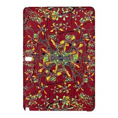 Oriental Floral Print Samsung Galaxy Tab Pro 12.2 Hardshell Case by dflcprints
