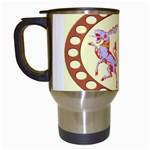 Herald Donkey Travel Mug (White)