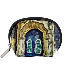 Luebeck Germany Arched Church Doorway Accessory Pouches (small)  by karynpetersart