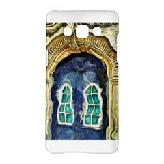 Luebeck Germany Arched Church Doorway Samsung Galaxy A5 Hardshell Case