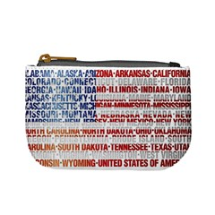 Usa States Flag Mini Coin Purses by theimagezone