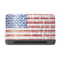 Usa States Flag Memory Card Reader With Cf by theimagezone