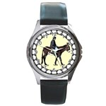 Mammoth Round Metal Watch