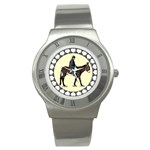 Mammoth Stainless Steel Watch