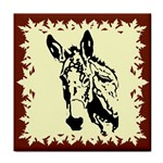 Donkey head Tile Coaster