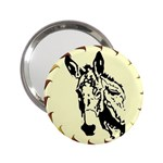 Donkey head 2.25  Handbag Mirror