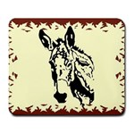 Donkey head Large Mousepad