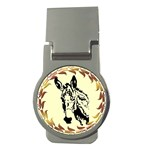 Donkey head Money Clip (Round)