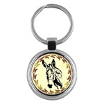 Donkey head Key Chain (Round)