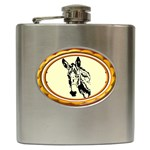 Donkey head Hip Flask (6 oz)