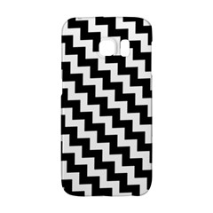 Black And White Zigzag Galaxy S6 Edge